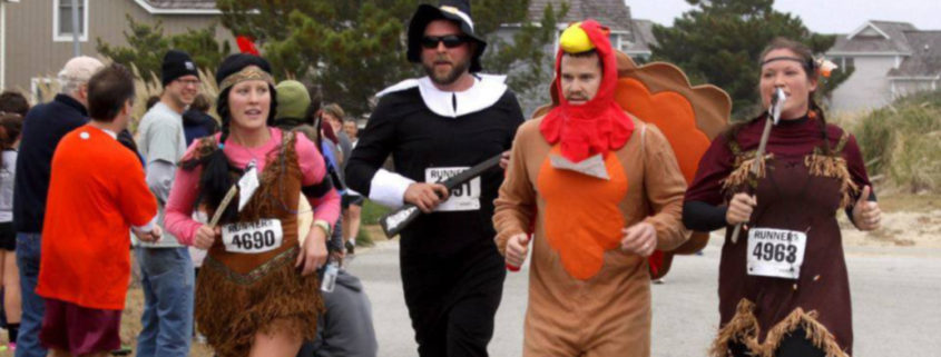 outer banks thanksgiving events races