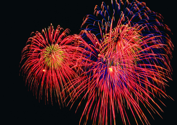 Fireworks on the Outer Banks 4th of July