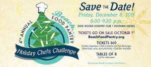 Outer Banks Beach Food Pantry Holiday Chefs Challenge