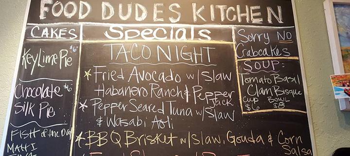 Food Dudes - Outer Banks Restaurant Specials