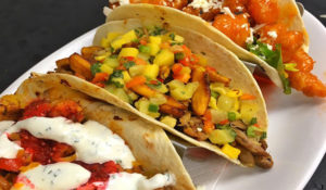 Outer Banks Restaurants - Barefoot Bernies tacos