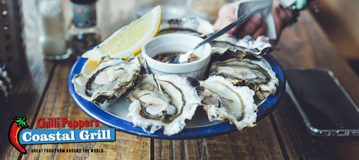Outer Banks restaurant specials - Chilli Peppers Oyster Roast