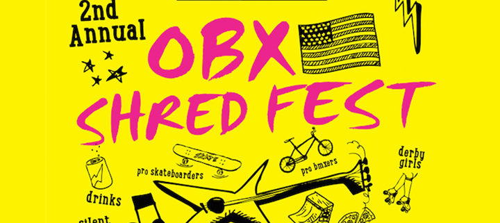 Outer Banks events - Shred Fest
