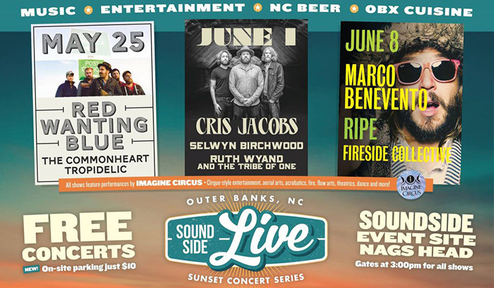 Outer Banks events - live concerts