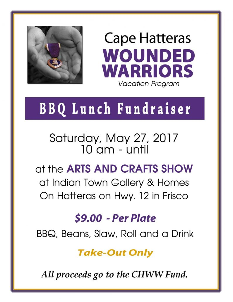 Wounded Warriors Bbq Fundraiser In Frisco Outer Banks Events Calendar