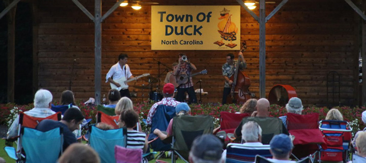 Outer Banks live music concerts - Duck