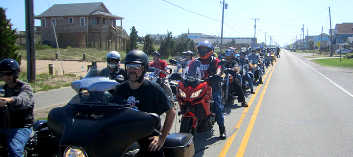 Outer Banks charity motorcycle ride