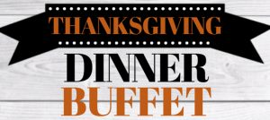 Outer Banks restaurant events - Thanksgiving buffet
