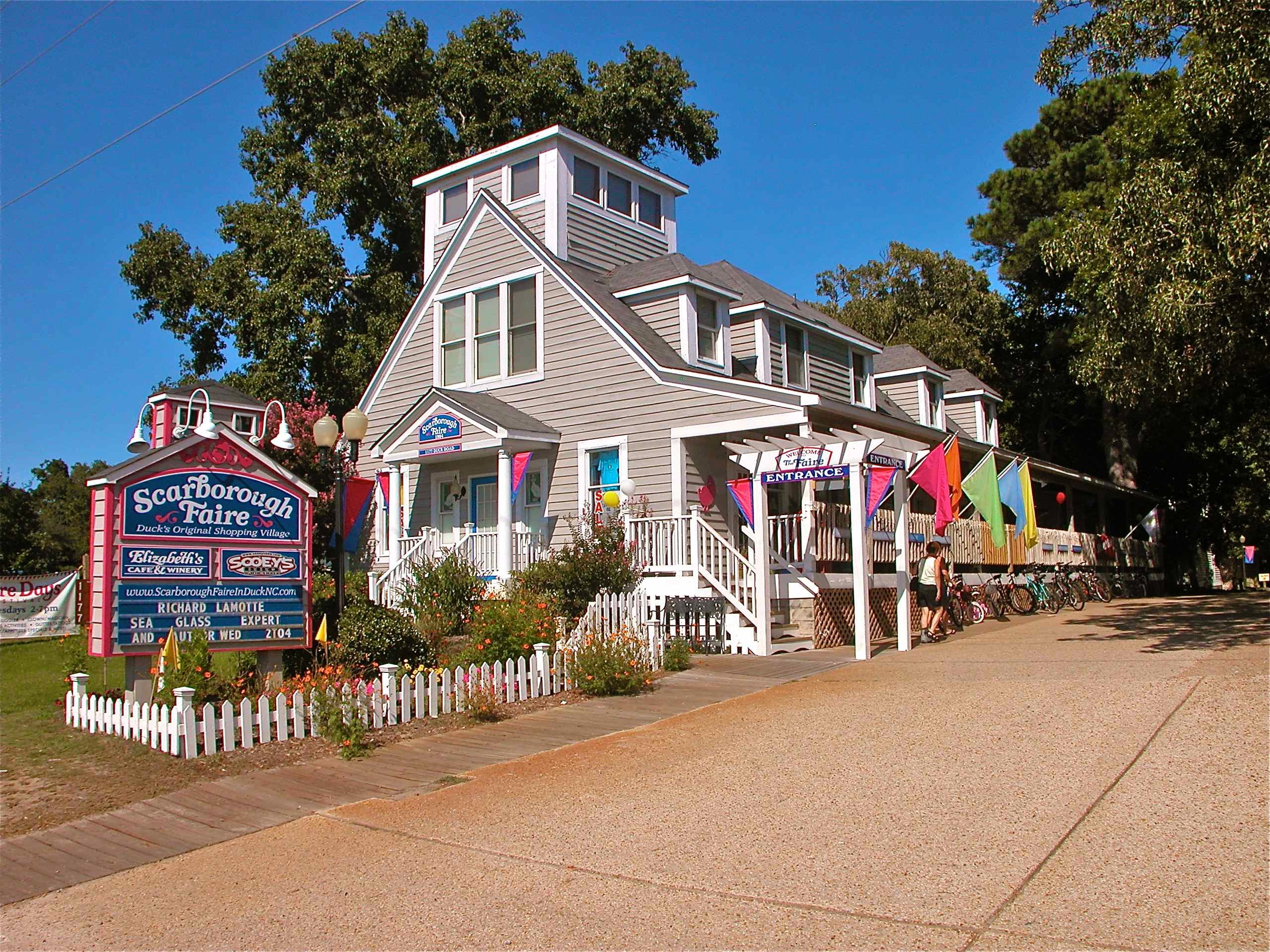 Scarborough Faire Shopping Village - Outer Banks Events