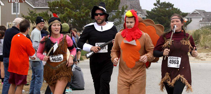 Outer Banks Thanksgiving Day 5K race