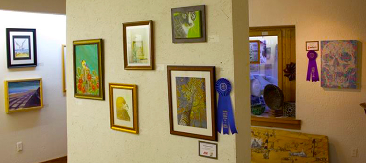 Outer Banks art show - Frank Stick