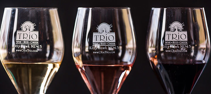 Outer Banks wine tasting - TRiO