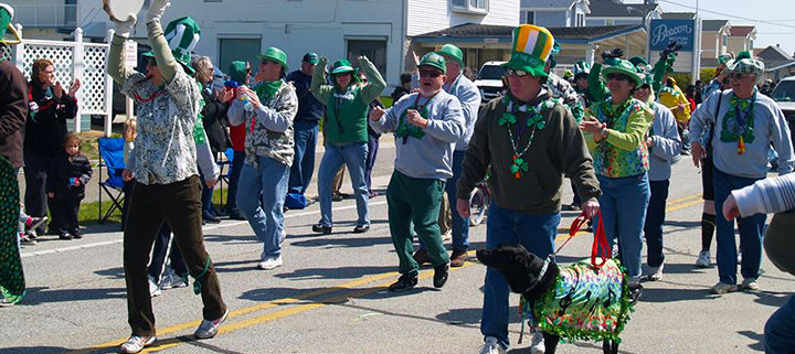 Outer Banks events and restaurant specials - St Patricks Day Parade