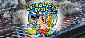 Outer Banks events - charity BBQ - oyster roast