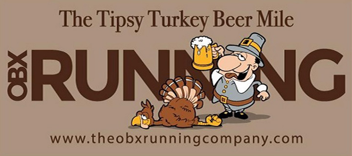 Outer Banks races - Tipsy Turkey Beer Mile - OB Brewing Station