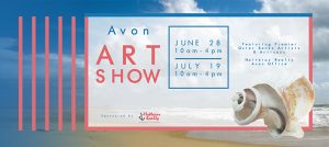 Outer Banks events - Avon art show