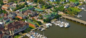 Outer Banks events - First Friday - Manteo waterfront