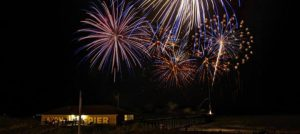 Outer Banks 4th of July fireworks Hatteras Island Avon Fishing Pier
