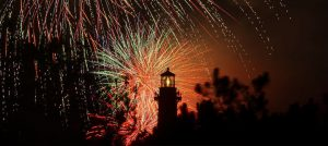 Outer Banks 4th of July fireworks Historic Corolla Park Whalehead Club