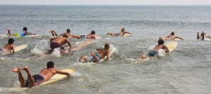 Outer Banks events - Surfrider Foundation Paddle Race - Short Board Long Board Paddleboard Stand Up Paddleboard Kayak