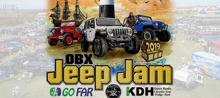Outer Banks events - OBX Jeep Jam car show