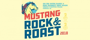 Outer Banks events - Mustang Rock and Roast - oyster roast - BBQ cook off - live music