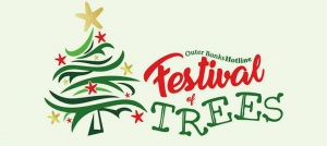 Outer Banks events - holiday fundraiser - auction - bazaar - Outer Banks Hotline Festival of Trees