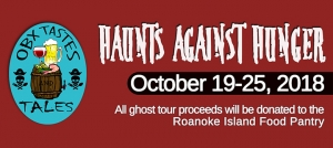 Outer Banks Events - Manteo Halloween Ghost Tours - Haunts Against Hunger