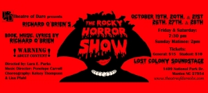 Outer Banks events - The Rocky Horror Show - Theatre of Dare - Lost Colony Soundstage