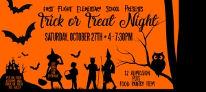 Outer Banks events - Halloween - Trick or Treat - First Flight Elementary