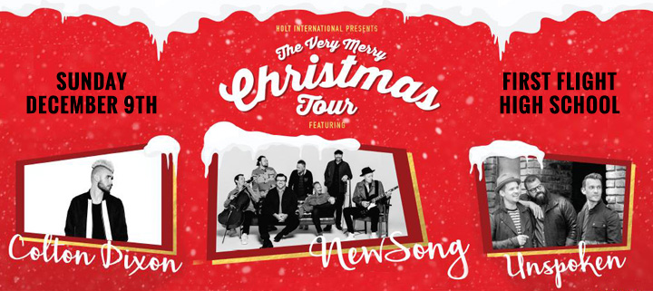 Outer Banks Events - Christmas concert - NewSong Colton Dixon Unspoken