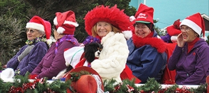 Outer Banks events - Hatteras Village Christmas Parade