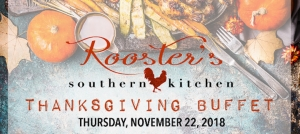 Outer Banks events - Rooster's Thanksgiving Buffet