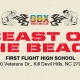 Outer Banks events - Beast of the Beach wrestling tournament - First Flight High School