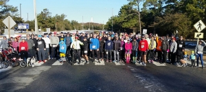 Outer Banks events - Frostbite 5K - Outer Banks Running Club - membership run
