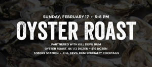 Outer Banks events - Outer Banks Brewing Station - Oyster Roast - Kill Devil Rum