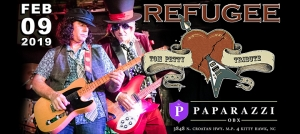 Outer Banks live music concerts - Tom Petty and the Heartbreakers - Refugee - Paparazzi OBX
