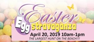 Outer Banks Easter events - Egg Hunt - Elizabethan Gardens