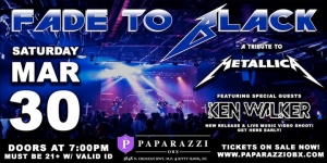 Outer Banks rock concerts - Metallica tribute band - Fade to Black - Paparazzi OBX