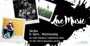 Outer Banks Events - live music - Skribe - Cafe Pamlico
