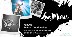 Outer Banks Events - live music - Vanwho - Cafe Pamlico