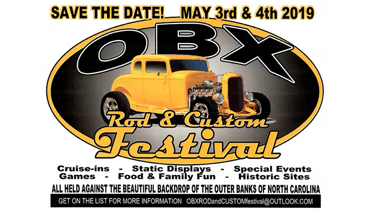 Outer Banks events - Car show - OBX Rod and Custom Festival