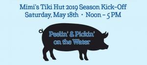 Outer Banks events - Pig Pickin - Shrimp - Blue Water Grill - Mimis Tiki Hut - Pirates Cove Marina