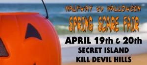Outer Banks events - Spring Scare Fair - Secret Island Restaurant