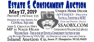 Outer Banks events - estate consignment auction