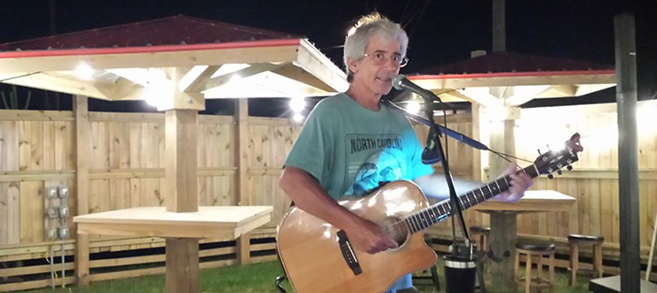 Outer Banks live music - Steve Hauser - Jack Browns KDH