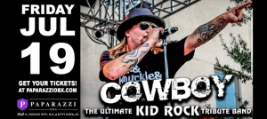 Outer Banks events - live music - Cowboy - Kid Rock Tribute Band - Paparazzi OBX